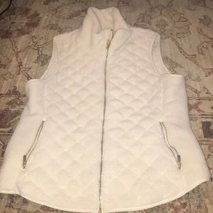 Abercrombie and Fitch white vest